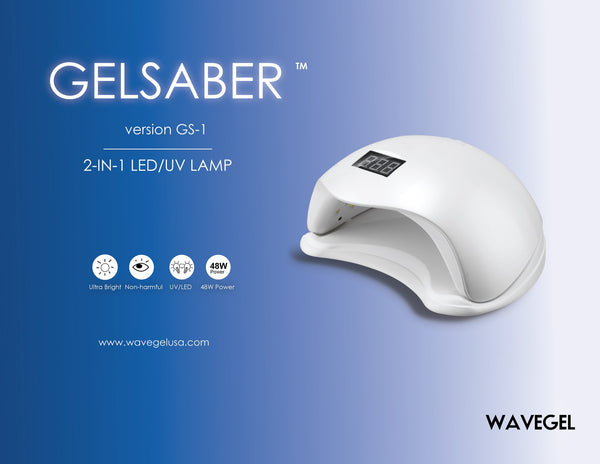 WAVEGEL GelSaber LED/UV Light 48 WATT