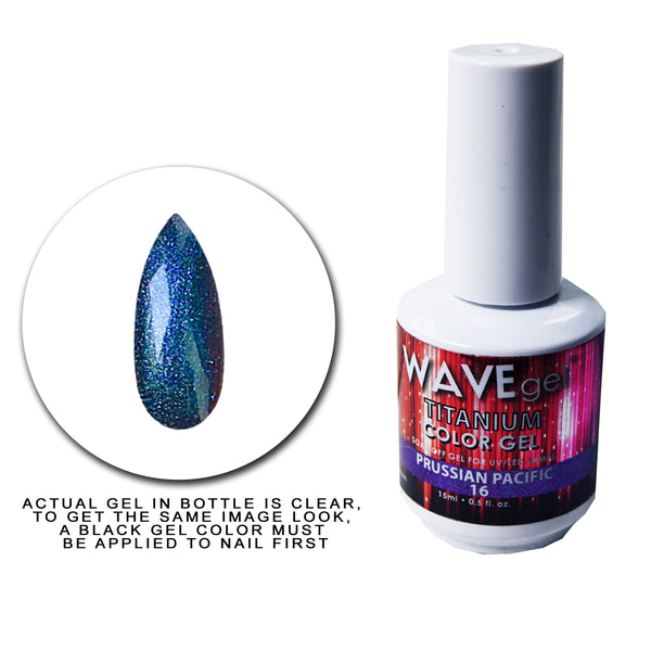 WAVEGEL Titanium Gel # 16 Prussian Pacific