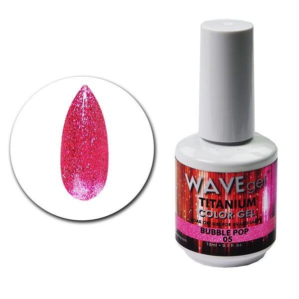 WAVEGEL Titanium Gel # 5 Bubble Pop