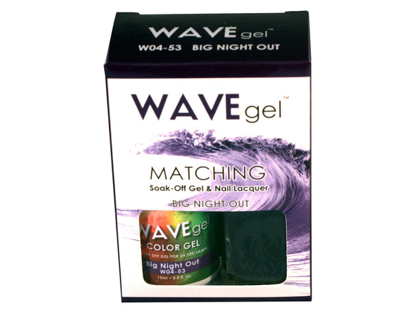 WAVEGEL MATCHING (#053) W0453 BIG NIGHT OUT