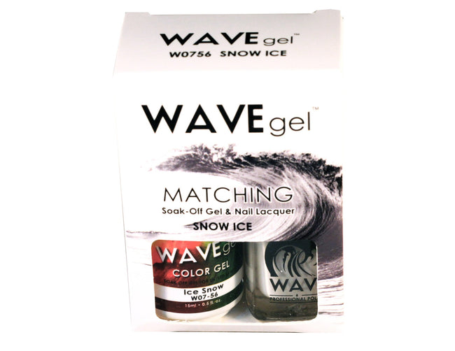 WAVEGEL MATCHING (#056) W0756 SNOW ICE