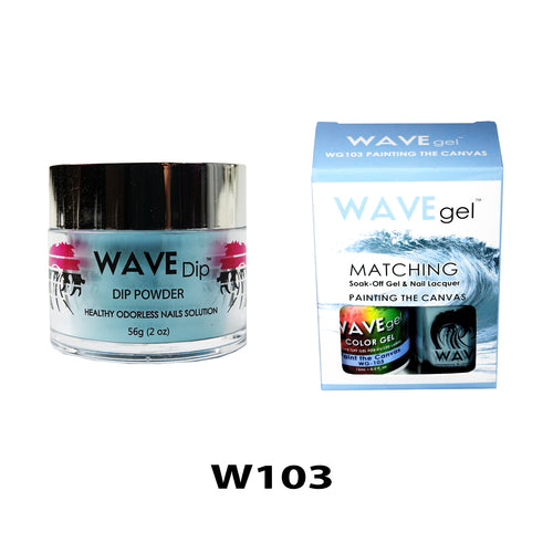 WAVEGEL 3-IN-1: W103 PAINTING THE CANVAS
