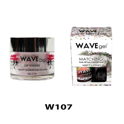 WAVEGEL 3-IN-1: W107 NOW IT'S A PARTY