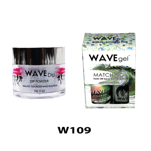 WAVEGEL 3-IN-1: W109 CONFETTI TIME