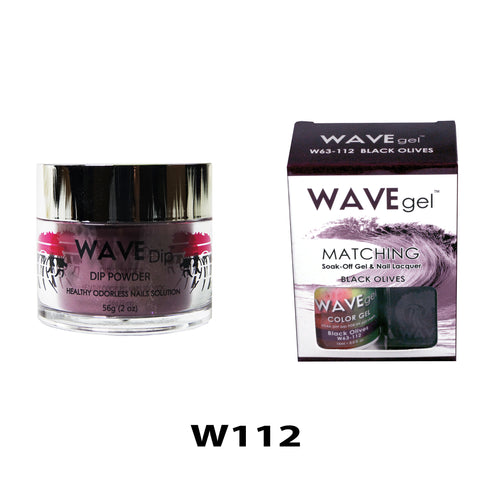 WAVEGEL 3-IN-1: W112 BLACK OLIVES