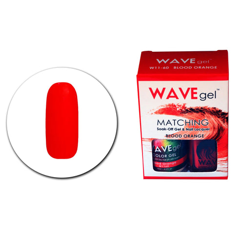 WAVEGEL MATCHING (#060) W1160 BLOOD ORANGE