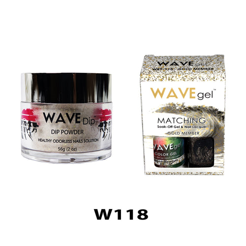 WAVEGEL 3-IN-1: W118 GOLD MEMBER
