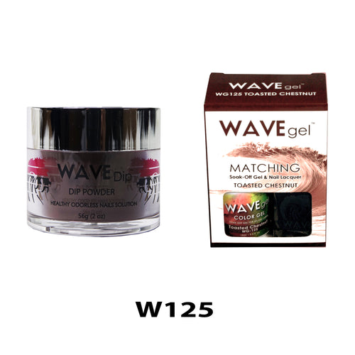 WAVEGEL 3-IN-1: W125 TOASTED CHESTNUT