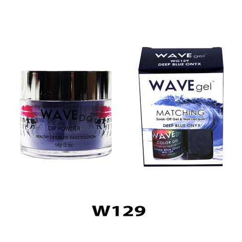 WAVEGEL 3-IN-1: W129 DEEP BLUE ONYX