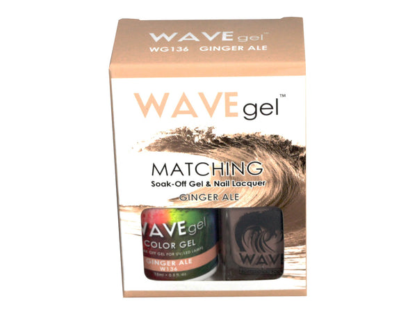 WAVEGEL MATCHING (#136) W136 GINGER ALE