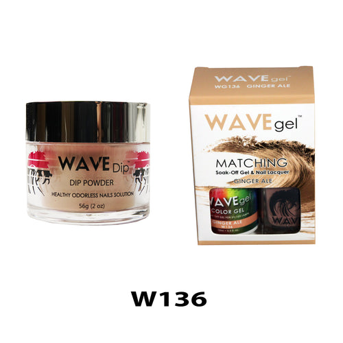 WAVEGEL 3-IN-1: W136 GINGER ALE