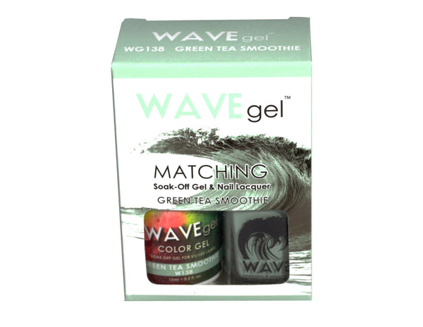 WAVEGEL MATCHING (#138) W138 GREEN TEA SMOOTHIE