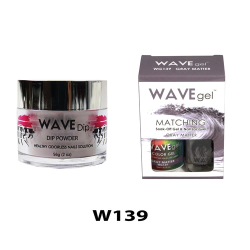 WAVEGEL 3-IN-1: W139 GRAY MATTER