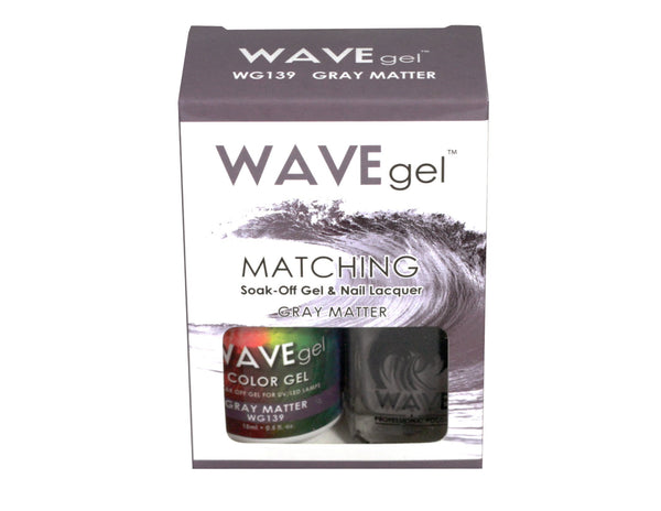WAVEGEL MATCHING (#139) W139 GRAY MATTER