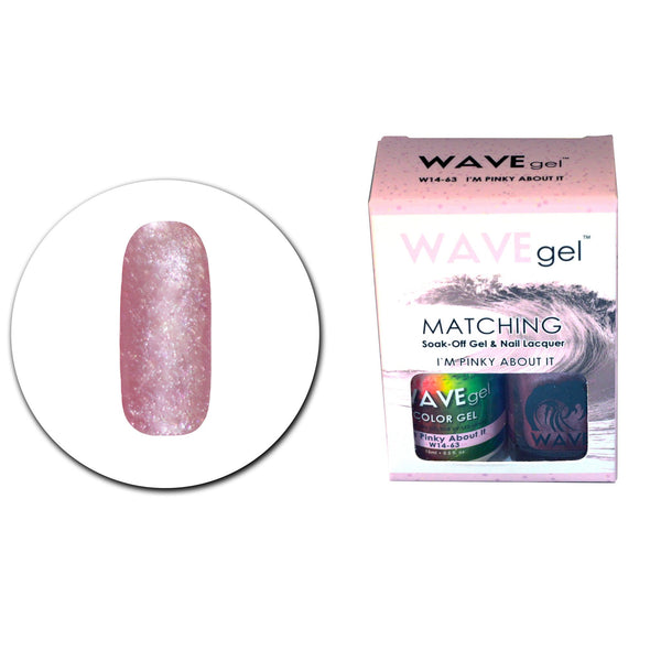 WAVEGEL MATCHING (#063) W1463 I'M PINKY ABOUT IT