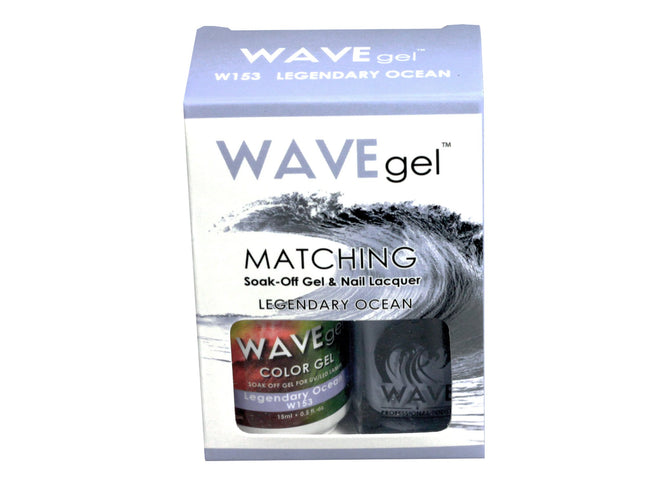 WAVEGEL MATCHING (#153) W153 LEGENDARY OCEAN