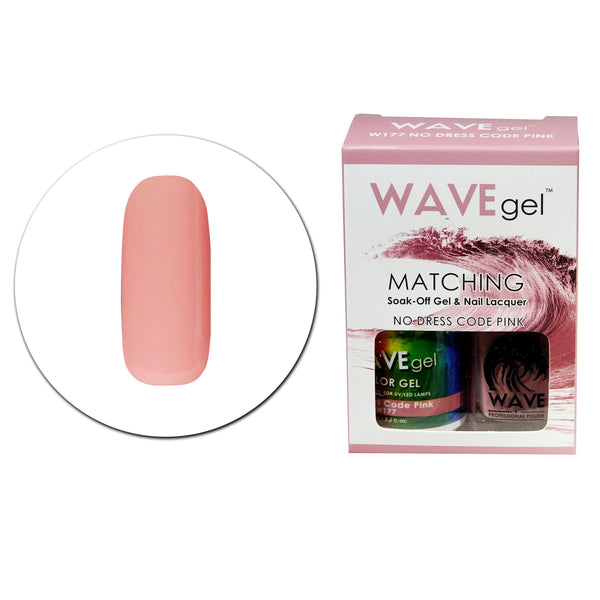 WAVEGEL MATCHING (#177) W177 NO DRESS CODE PINK