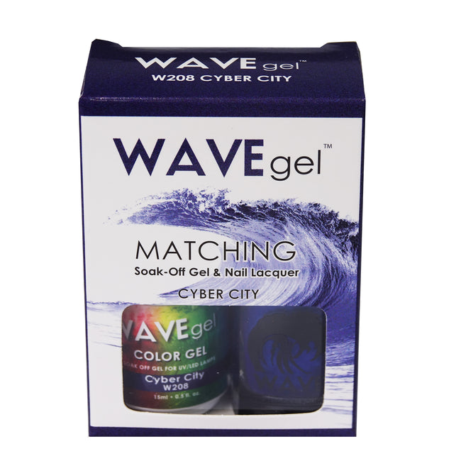 WAVEGEL MATCHING (#208) W208 CYBER CITY