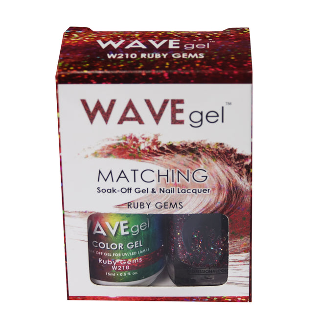WAVEGEL MATCHING (#210) W210 RUBY GEMS