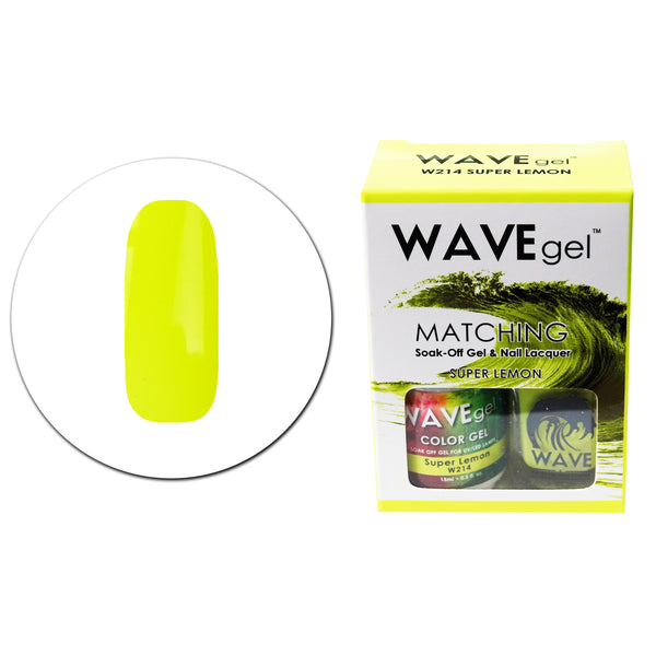 WAVEGEL MATCHING (#214) W214 SUPER LEMON