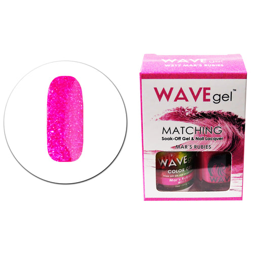 WAVEGEL MATCHING (#217) W217 MAR'S RUBIES
