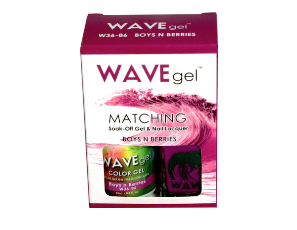 WAVEGEL MATCHING (#086) W3686 BOYS N' BERRIES