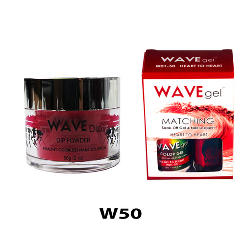 WAVEGEL 3-IN-1: W50 HEART TO HEART