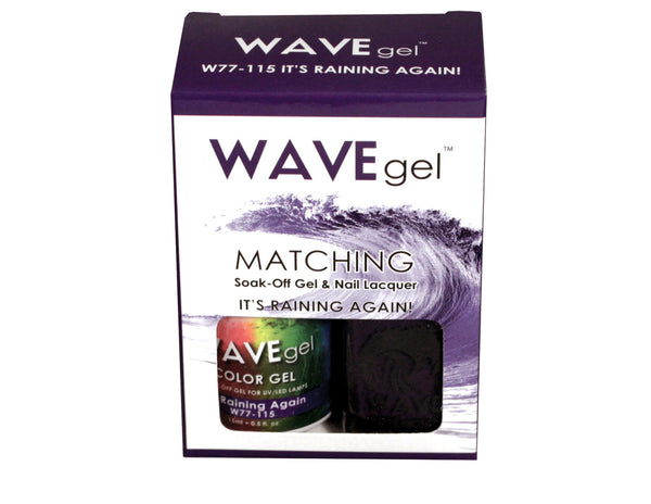 WAVEGEL MATCHING (#115) W77115 IT'S RAINING AGAIN