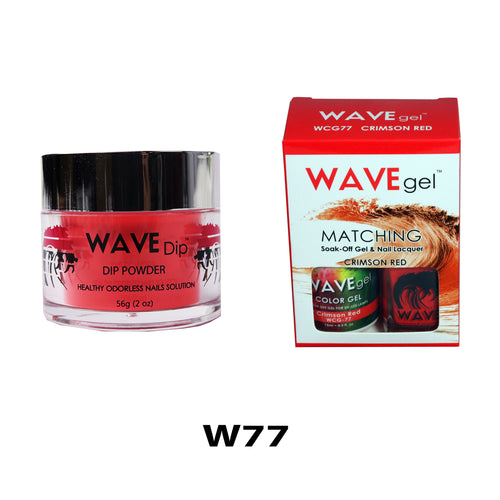 WAVEGEL 3-IN-1: W77 CRIMSON RED