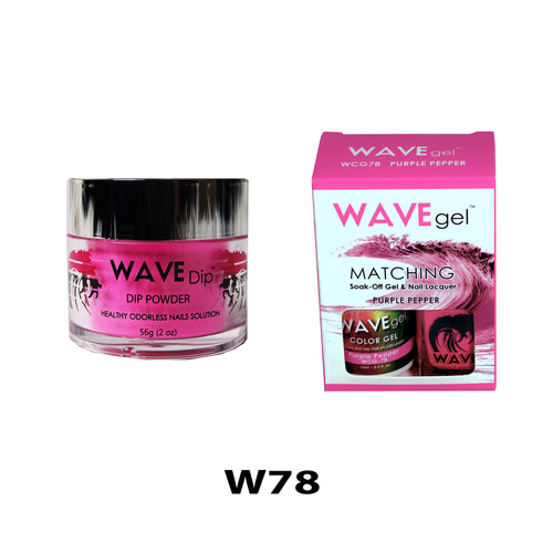 WAVEGEL 3-IN-1: W78 PURPLE PEPPER