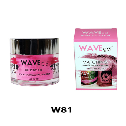 WAVEGEL 3-IN-1: W81 FUSCHIA ROSE