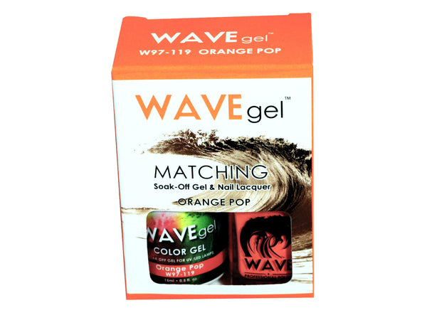 WAVEGEL MATCHING (#119) W97119 ORANGE POP