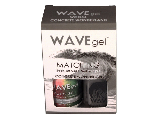 WAVEGEL MATCHING (#054) WCG54 CONCRETE WONDERLAND