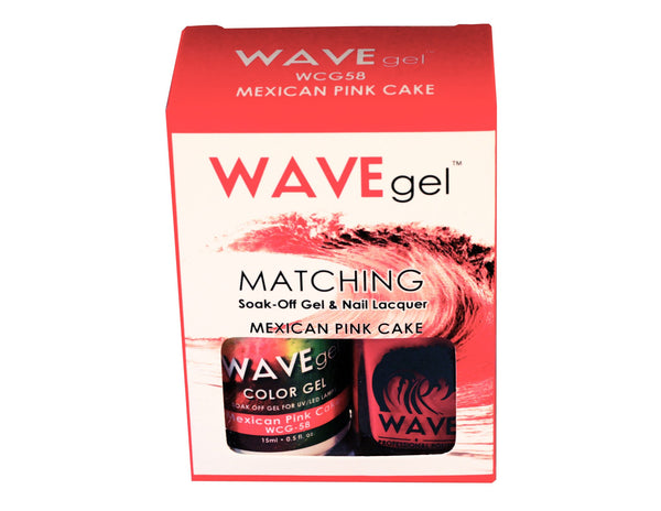 WAVEGEL MATCHING (#058) WCG58 MEXICAN PINK CAKE