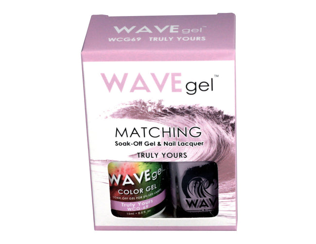 WAVEGEL MATCHING (#069) WCG69 TRULY YOURS