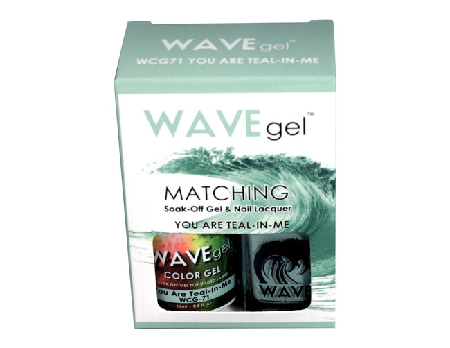 WAVEGEL MATCHING (#071)WCG71 YOU ARE TEAL N' ME