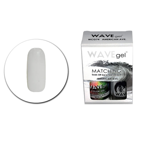 WAVEGEL MATCHING (#074) WCG74 AMERICAN AVE