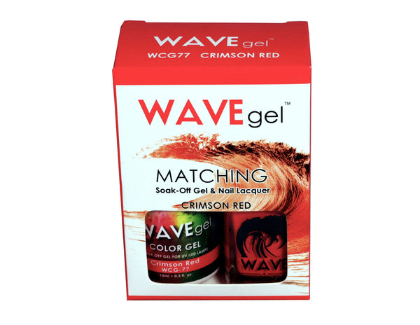 WAVEGEL MATCHING (#077) WCG77 CRIMSON RED