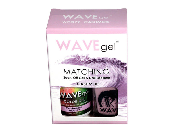 WAVEGEL MATCHING (#079) WCG79 CASHMERE