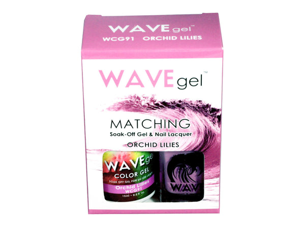 WAVEGEL MATCHING (#091) WCG91 ORCHID LILIES