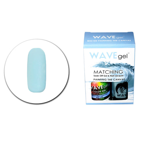 WAVEGEL MATCHING (#103) WG103 PAINTING THE CANVAS