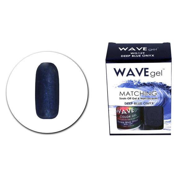 WAVEGEL MATCHING (#129) WG129 DEEP BLUE ONYX
