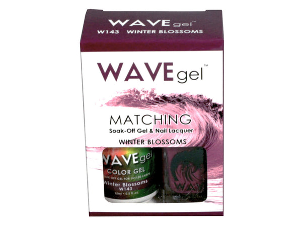 WAVEGEL MATCHING (#143) W143 WINTER BLOSSOMS