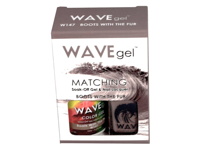 WAVEGEL MATCHING (#147) W147 BOOTS WITH THE FUR