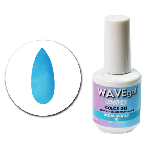 WAVEGEL Ombre Gel # 10 Aqua World