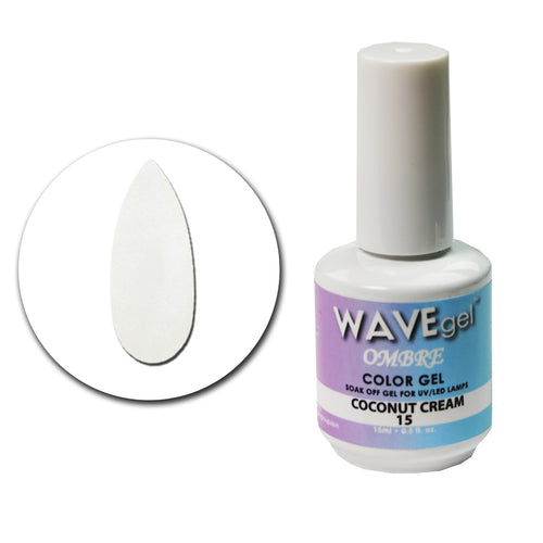 WAVEGEL Ombre Gel # 15 Coconut Cream