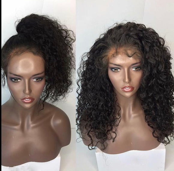 Indian Curly Wig - Sasha - Glamaholic LLC