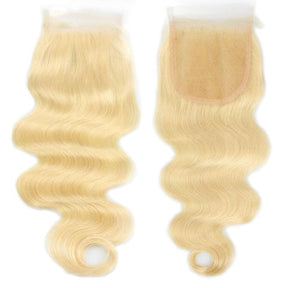 Gorgeous Blonde 4*4 Closure - Glamaholic LLC