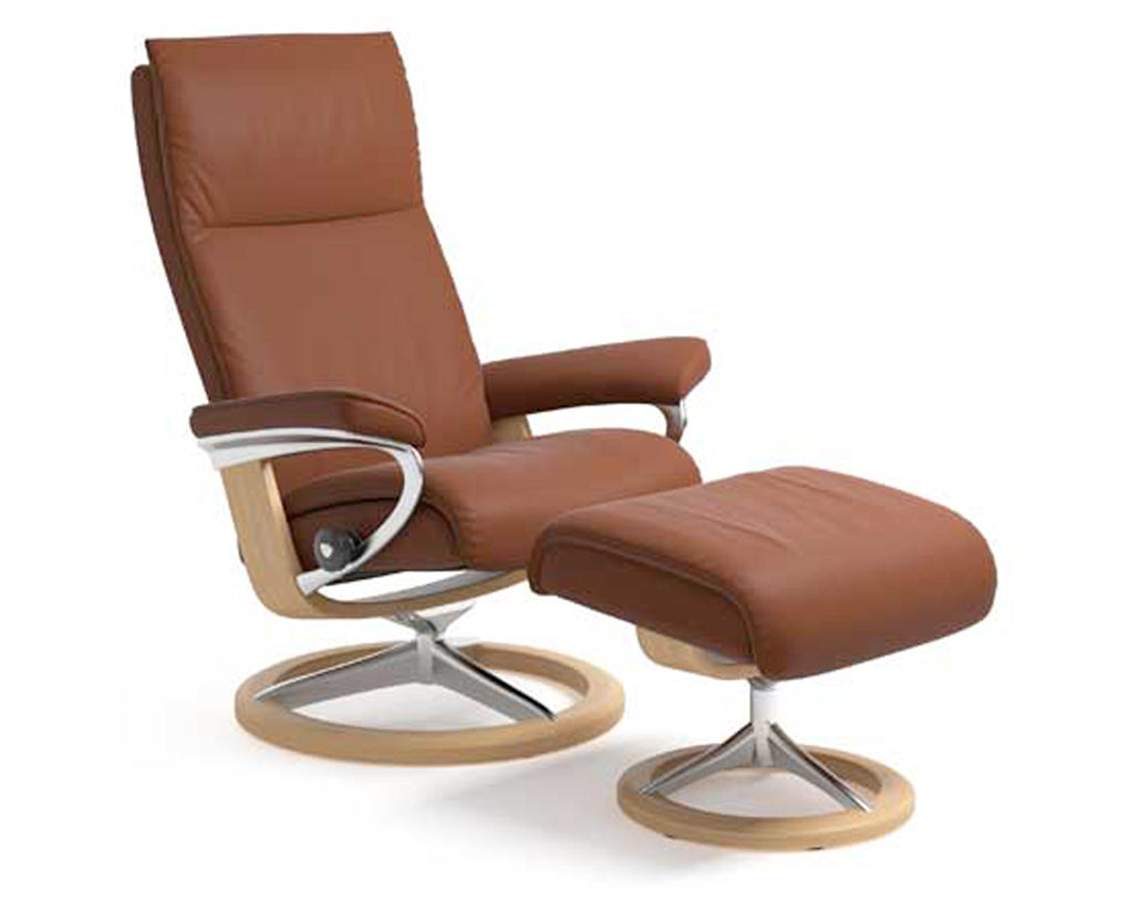 Paloma Copper | Stressless Aura Signature Recliner