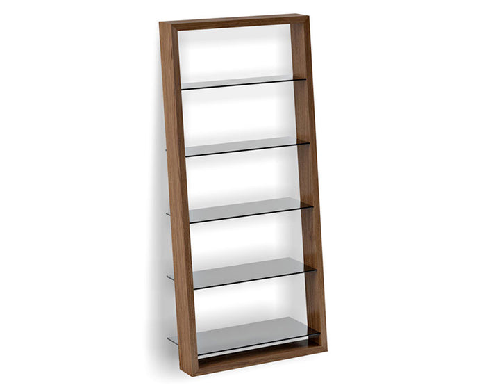 Natural Walnut | BDI Elieen Bookcase